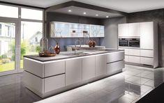 Nobilia Kitchen, Kitchen Island, Kitchen Cabinets, Kitchen Ideas, Küchen Design, House Design, Design Ideas, German Kitchen, Counter Design