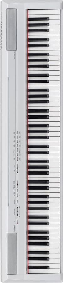 Yamaha White Digital Piano With Weighted Keys                http://pinterest.com/cameronpiano