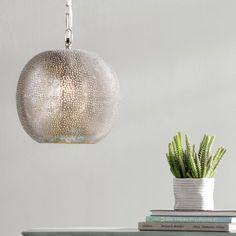 Calla 1-Light Globe Pendant