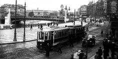 Schwedenplatz 1930 Book Aesthetic, Rotterdam, Old Pictures, Time Travel, World War Ii, Street View, Drawing, History, Vintage