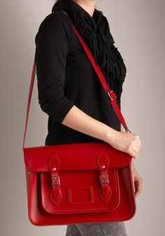 Cambridge Satchel. This has been on my list forever, but never pulled the trigger. Maybe some day.