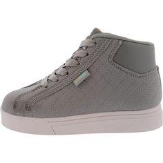 Fila - Girl's Oxidize Mid Sneakers (Little Kid) - Charcoal