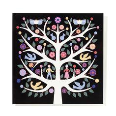 Tree Of Life is an original design by Alexander Girard was originally featured in a folk art exhibition in San Antonio, Texas in 1968