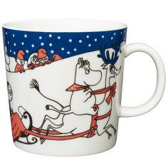 Moomin Mugs from Arabia – A Complete Overview Moomin Mugs, Tove Jansson, Marimekko, Christmas Greetings, Finland, Tableware, Mumi, Painting, Teaching