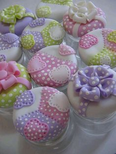 Fimo and baby food jars