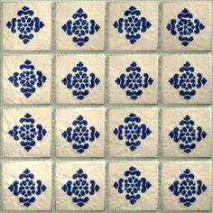 LeMog - 3dTextures - Carrelage Azuleros Bleus 2 - Tiles/308 antigua