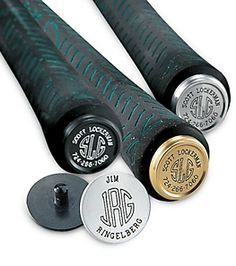 Monogrammed Golf Club Links are the perfect present for golfers! NormThompson.com #Golf #Gifts $39.99