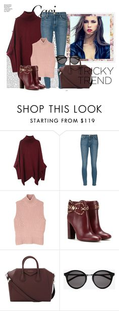 """""""Tricky Trend: Daytime Pajamas"""" by fashion-tagblog ❤ liked on Polyvore featuring Whiteley, Frame, Diesel Black Gold, Tory Burch, Givenchy, Yves Saint Laurent and TrickyTrend"""