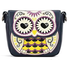 Badier Black Owl Cross Body Shoulder Bag and Purse / Coin Purse Badier http://www.amazon.com/dp/B00CPZ6MBO/ref=cm_sw_r_pi_dp_Y26sub0V7E38G