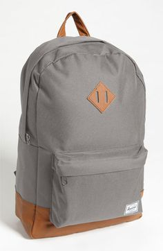 Might be more versatile. Kind of boring though. Herschel Supply Co. 'Heritage' Backpack. $55