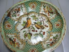 1971 VINTAGE TIN BOWL by neilsellers on Etsy, $12.00