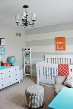 Babyzimmer klassisch gestalten beispiele hocker kronleuchter