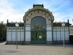 Wien Karlsplatz Stadtbahnstation - Art Nouveau - Wikipedia, the free encyclopedia