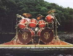 Neil Peart back in the day