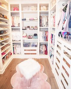dream rooms for adults . dream rooms for women . dream rooms for couples . dream rooms for adults bedrooms . dream rooms for girls teenagers Bedroom Decor For Teen Girls, Girl Bedroom Designs, Room Ideas Bedroom, Closet Bedroom, Diy Bedroom Decor, Teen Closet, Girls Dream Closet, Little Girl Closet, Baby Girl Closet