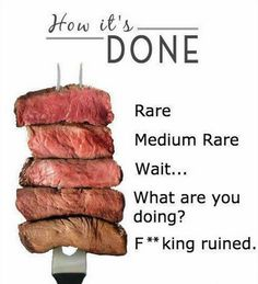 how to make sure steak is cooked