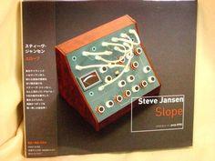 CD/Japan- STEVE JANSEN Slope w/OBI RARE PVCP-8782 - DAVID SYLVIAN - THEO TRAVIS #ExperimentalRockProgressiveArtRock