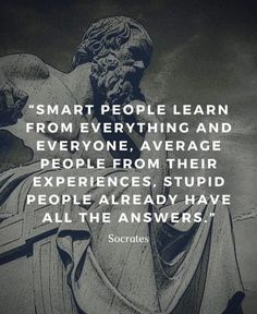 Socrates Quotes, Wise Quotes, Quotable Quotes, Great Quotes, Words Quotes, Funny Quotes, Sayings, Famous Life Quotes, Famous Philosophers Quotes