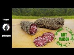 Apprendre à faire du saucisson sec de boeuf (Maison) très facilement. - YouTube Charcuterie, Salami Recipes, Smoking Meat, Food And Drink, Pork, Appetizers, Homemade, Grand Bazar, Foie Gras