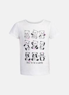 Принтованная футболка за 399р.- от OSTIN