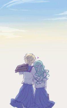 Hakura x Michiru