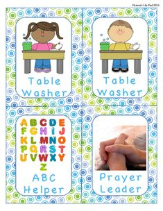 Lobster-themed classroom signs and labels pack (SB8370