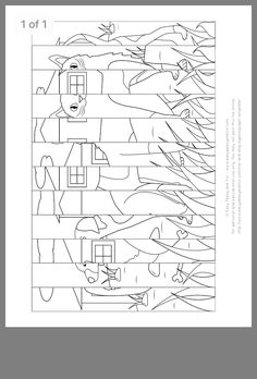 School Coloring Pages, Cute Coloring Pages, Coloring For Kids, Classroom Art Projects, Art Classroom, Stippling Art, 4th Grade Art, Art Worksheets, Toddler Art
