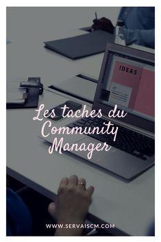 Les tâches d'un Community Manager Community Manager, Management, Articles, Instagram, Platform, Social Media
