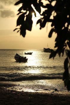 Atardecer en la Bahía de Juan Griego #Margarita2013 Edo. Nueva Esparta - Vzla by @menagarciav (4). Sunset at Bahía de Juan Griego