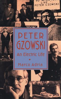 Peter Gzowski by Marco Adria, ECW Press — Peter Gzowski - Canada's best-known and most-adored radio personality. Marco Adria traces Gzowski's childhood in Galt, his unusual family history, and his early days at Maclean's, ultimately focusing on Gzowski's radio career. How does Morningside choose its guests? What's the secret behind Gzowski's interview technique? What are his deep-held beliefs about Canada? This first biography will be welcomed by his many fans and admirers.