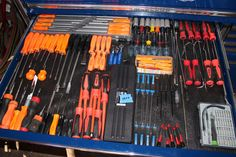Snap on Tool Box with Tools | eBay