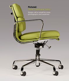 eames soft pad office chair designer office chairs from iconic interiors