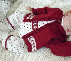 Beautiful Christmas Outfit for the Baby - from Craftsy