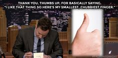 The Tonight Show Starring Jimmy Fallon thank you notes Girl Meets World, Boy Meets, Medicine Notes, Funny Thank You, Haha So True, Tv Show Quotes, Friday Humor, Reasons To Smile, Jimmy Fallon