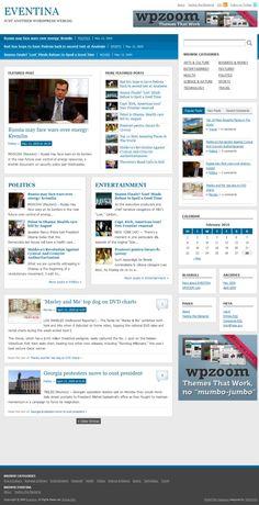 28 New Great Magazine/Newspaper Style Wordpress Themes