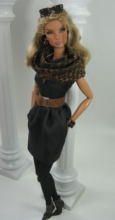Charcoal in Fall for Fashion Royalty Doll