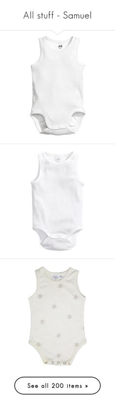 """""""All stuff - Samuel"""" by sahadmalik1 ❤ liked on Polyvore featuring intimates, shapewear, baby, baby clothes, kids, baby boy clothes, home, home decor, cotton jersey and short overalls"""