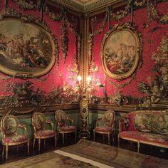 The Tapestry Room.