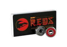 Bones Reds Precision Skateboard Longboard Bearings