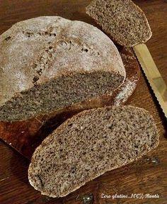 Pagnotta di pane al grano saraceno
