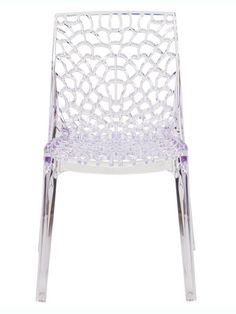 Rain Clear Chair | Modern Furniture • Brickell Collection