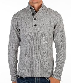 Buckle Black Almost Sweater