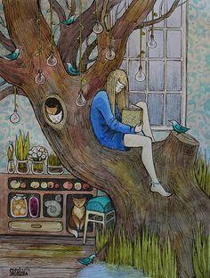 O cão que comeu o livro...: Uma leitora por dia / A reader a day