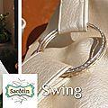 Détail anneau-bracelet - Sac Swing Camille M' Craft
