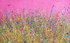 My heart is Overflowing With Love is an original artwork by UK Flower Artits Yvonne Coomber using oil paint on a canvas surface. This unique piece is signed and titled on the back by the artist. #flowerart #oilpainting #wallart