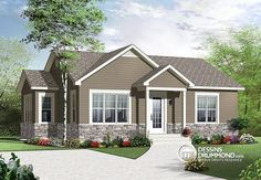 COOL house plans offers a unique variety of professionally designed home plans with floor plans by accredited home designers. Styles include country house plans, colonial, Victorian, European, and ranch. Blueprints for small to luxury home styles. Rustic House Plans, Cottage House Plans, Country House Plans, Small House Plans, Cottage Homes, Style At Home, Drummond House Plans, First Home Buyer, Shed Homes