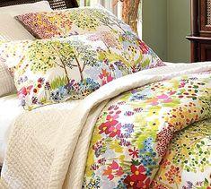 @Katiesheadesign Likes this-->  Woodland Organic Duvet Cover & Sham #potterybarn