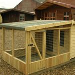 From sheds to summerhouses to traditional cabins, timber outdoor buildings are a specialty of ours, and all our centres feature fully-constructed displays. Outdoor Buildings, Outdoor Structures, Animal House, Outdoor Furniture, Outdoor Decor, Fence, Construction, Cabin, Traditional