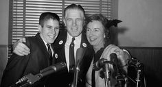 Mitt Romney, father George, mother Lenore
