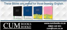 These Bibles are perfect for those learning to read English. Gain a more in-depth knowledge of the Bible. All Languages, Learn English, Esl, Be Perfect, Gain, Knowledge, Bible, Learning, Learning English